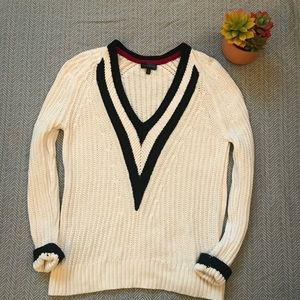 The Limited V-Neck Knit Sweater